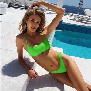Green Neon 2-Piece Bikini Set